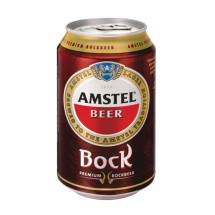 Amstel Bock metal can 330ml