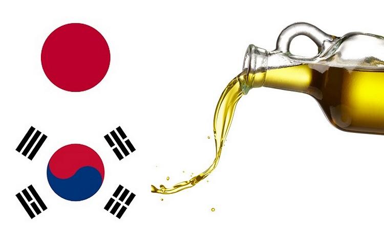 εξαγωγές ελαιολάδου σε ιαπωνία - κορέα